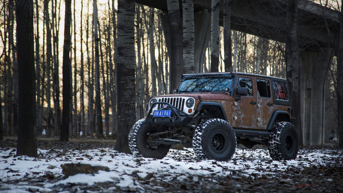 Vilner показал Jeep Wrangler Hunting Unlimited